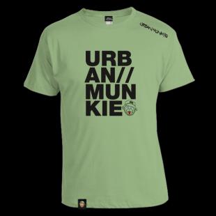 UM-URBAN-MUNKIE-Tshirt-FRONT---pistashio